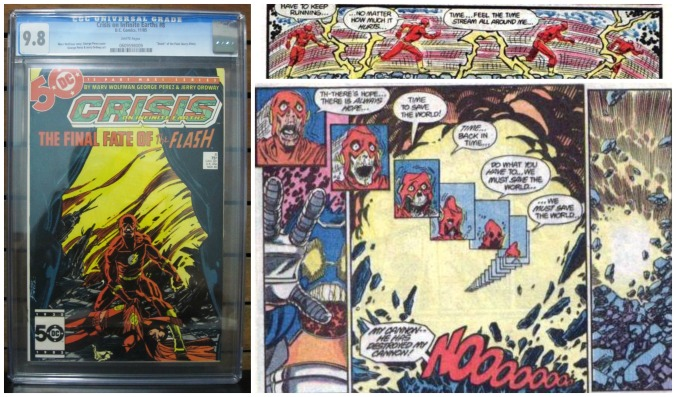 Flash Moment: Crisis on Infinite Earths #8